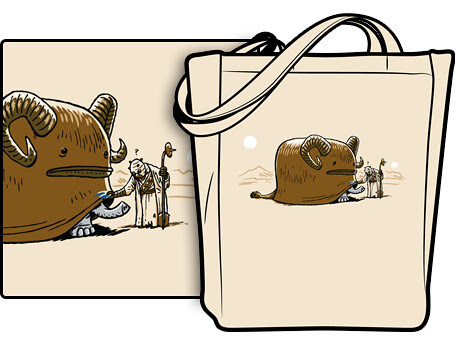 woot tote by Ape Lad