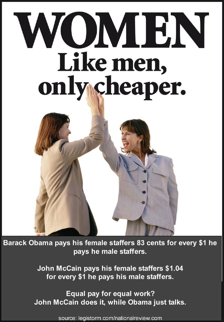 O PAYS WOMEN LESS