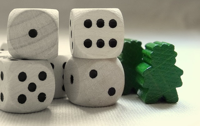 Stone Age dice & meeples