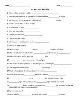 Sound Worksheet Answers   worksheet