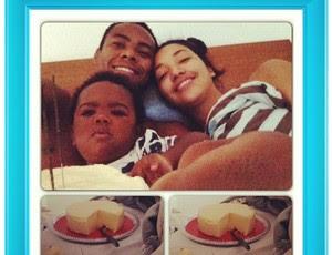 Elias foto família queijo (Foto: Reprodução / Instagram)
