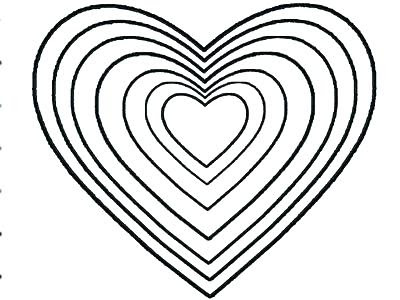 heart shape coloring pages at getcolorings  free printable colorings pages to print and color
