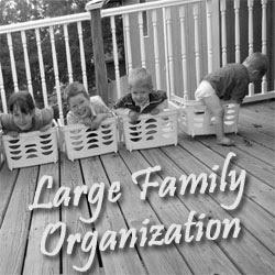 Large Family Organization @RaisingArrows.net