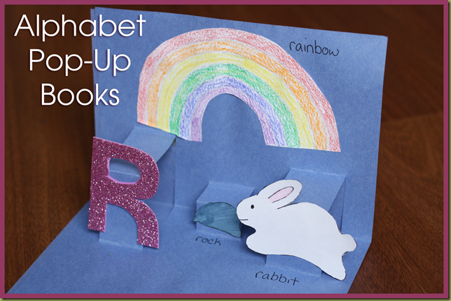 Alphabet Pop Up Books