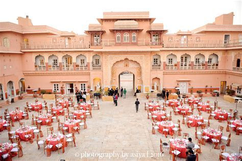 How Much Does a Destination Wedding at Chomu Palace