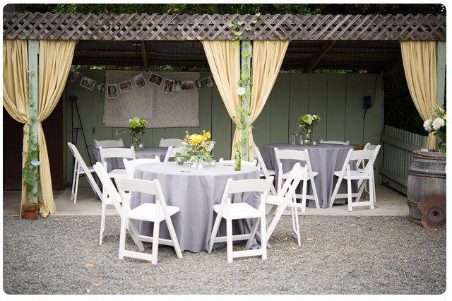 Backyard wedding ideas for spring