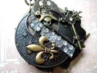 Steampunk Goddess Necklace! 6
