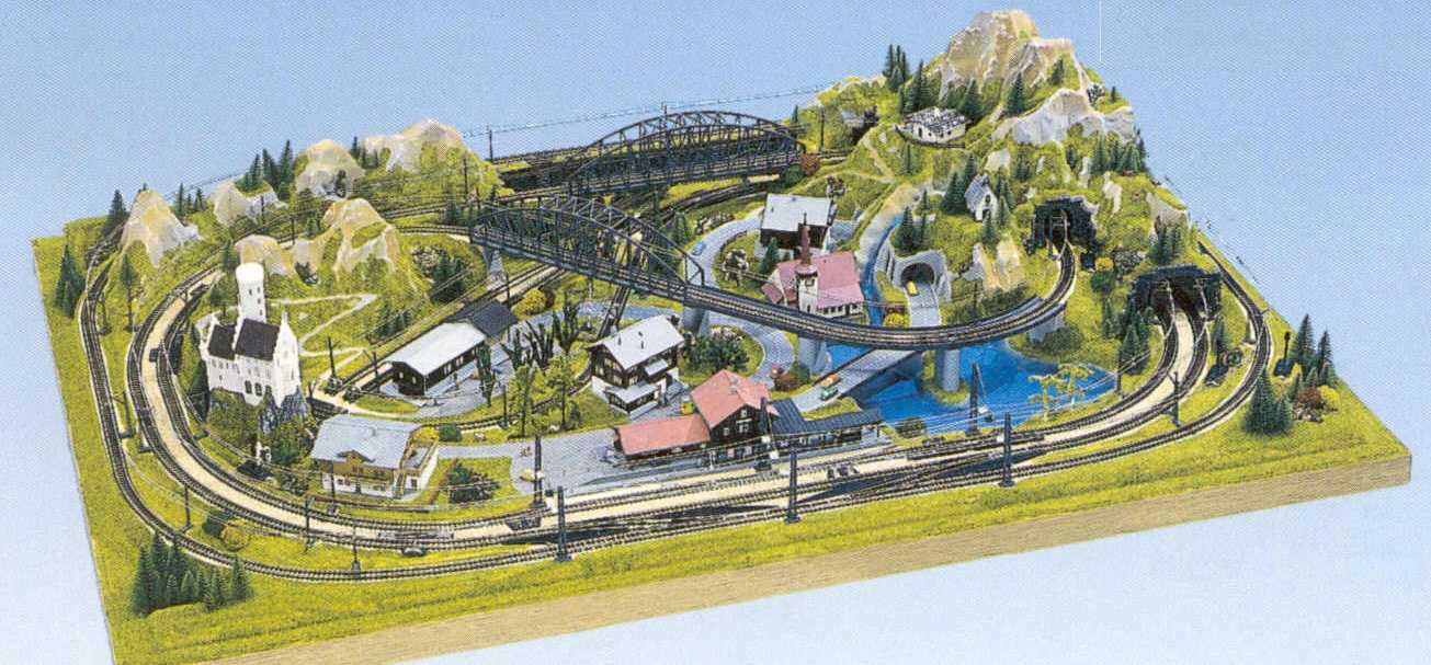 Valueable Hobby: The way you created Preformed model train layouts