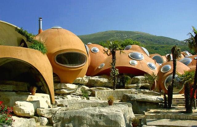 casasExtrañas- casa de burbujas en Francia