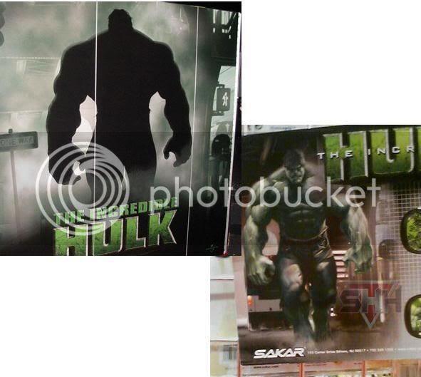 Hulk:Poster e Rio
