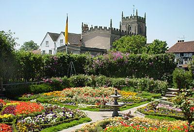 Knot Garden - Stratford-upon-Avon