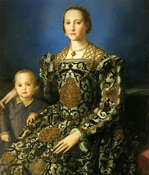 Angelo Bronzino's famous portrait of Eleonora di Toledo and her son Giovanni
