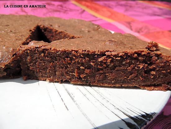 Recette de Gâteau chocolat au mascarpone sans oeuf, ni beurre