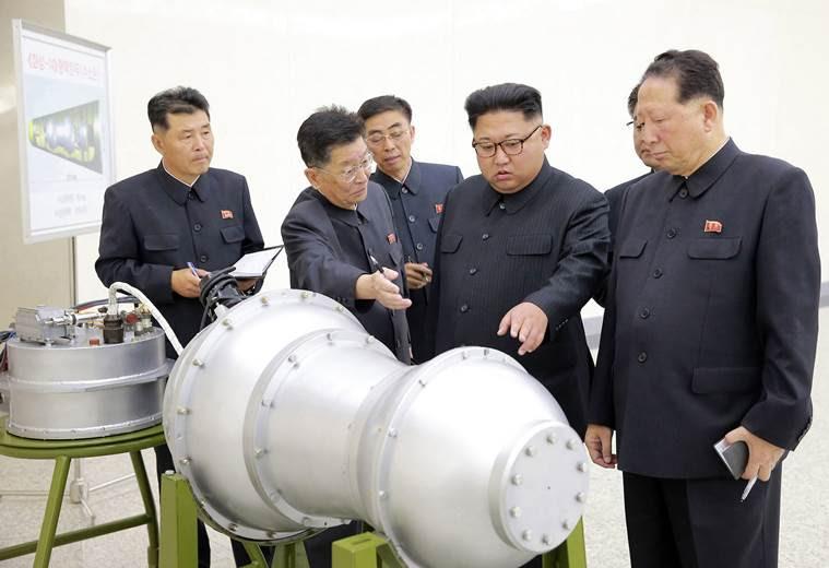 north korea, kim jong un, nuclear test site, geologists, donald trump, indian express