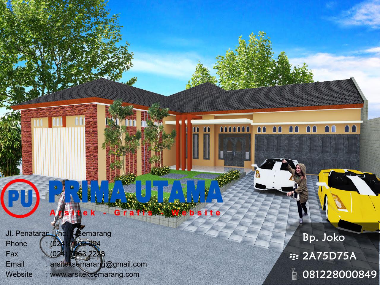 Denah Rumah Etnik Jawa