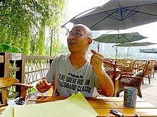 Liao Yiwu Wenjiang, Chengdu July 2010.jpg