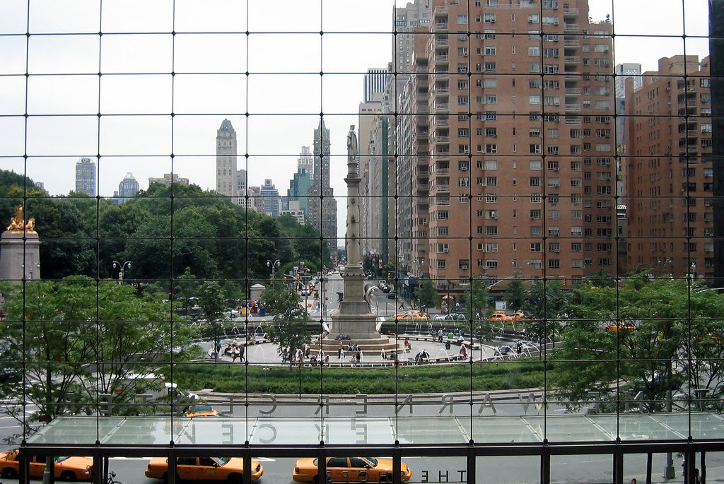 NYC: Columbus Circle from The Shops at Columbus Circle