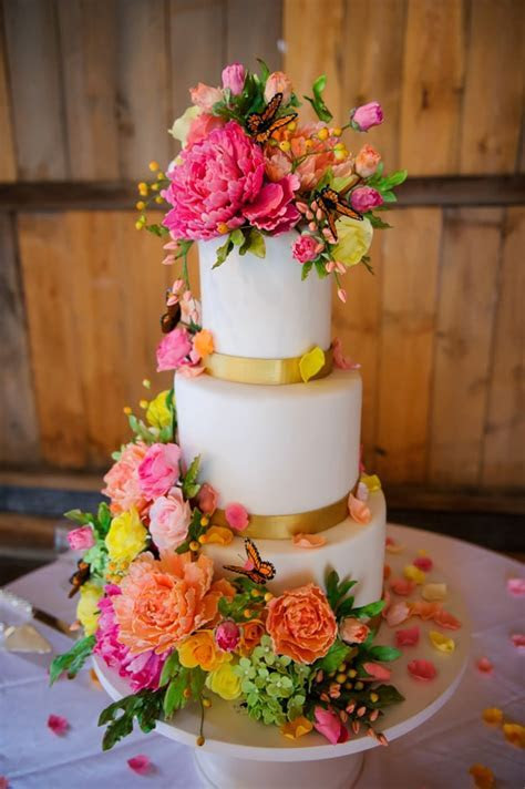 FLORAL WEDDING CAKE   Best Friends For Frosting
