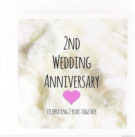 Happy 2nd Wedding Anniversary Images, Second Anniversary