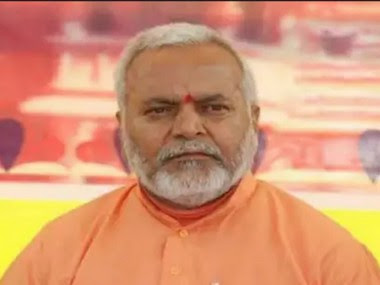 File image of Swami Chinmayanand. News18