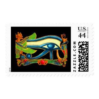 Eye Of Horus on black