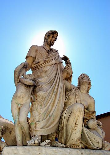 Il Monumento a Canapone in Grossetto, Italy