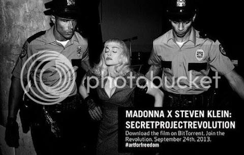 il #secretprojectrevolution di madonna esce su bittorrent, gratis