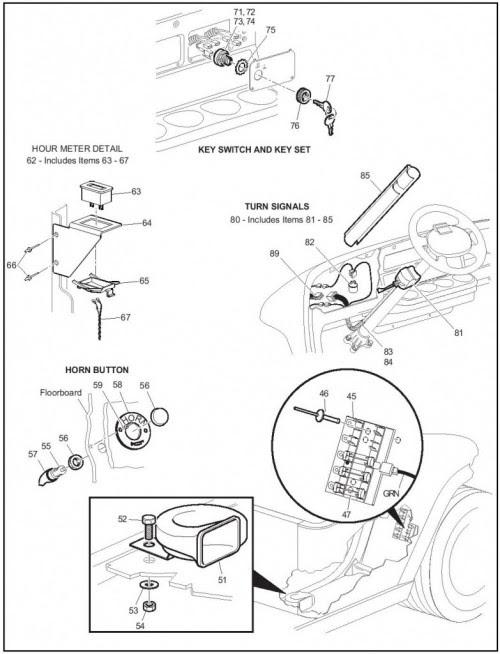 Ezgo Txt Wiring Diagram For Key Switch - Wiring Diagram ...