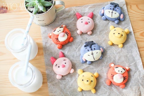 Tsum Tsum Pooh Amp Friends Cookie Bento Monsters