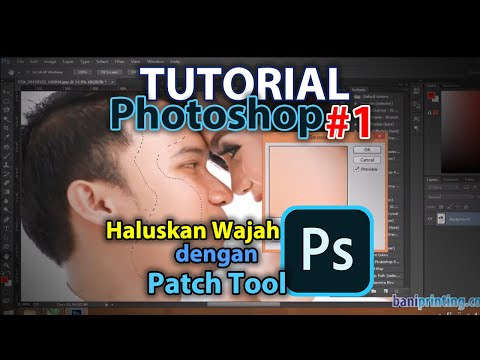 Cara Mudah Muluskan Wajah - Tutorial Photoshop