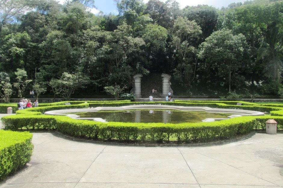 Paisagem do Jardim Botânico