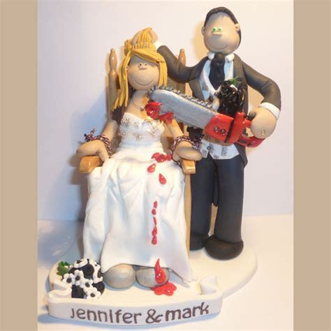 Themed Wedding Cake Toppers   Totally Toppers.com
