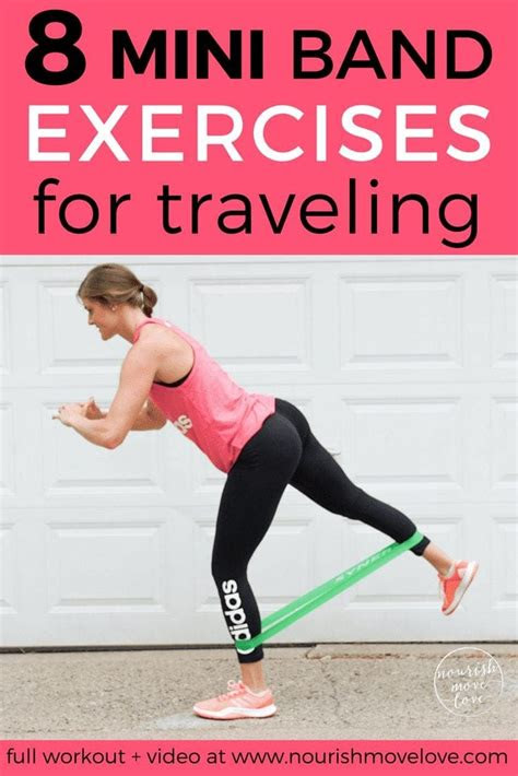 resistance band exercises  traveling nourish move