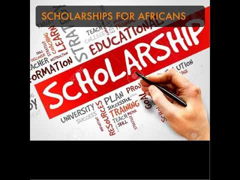(Master's and PhD Scholarships) - Scholarship Opportunities for Students from AFRICA and other Developing Countries (Latin America, Asia)