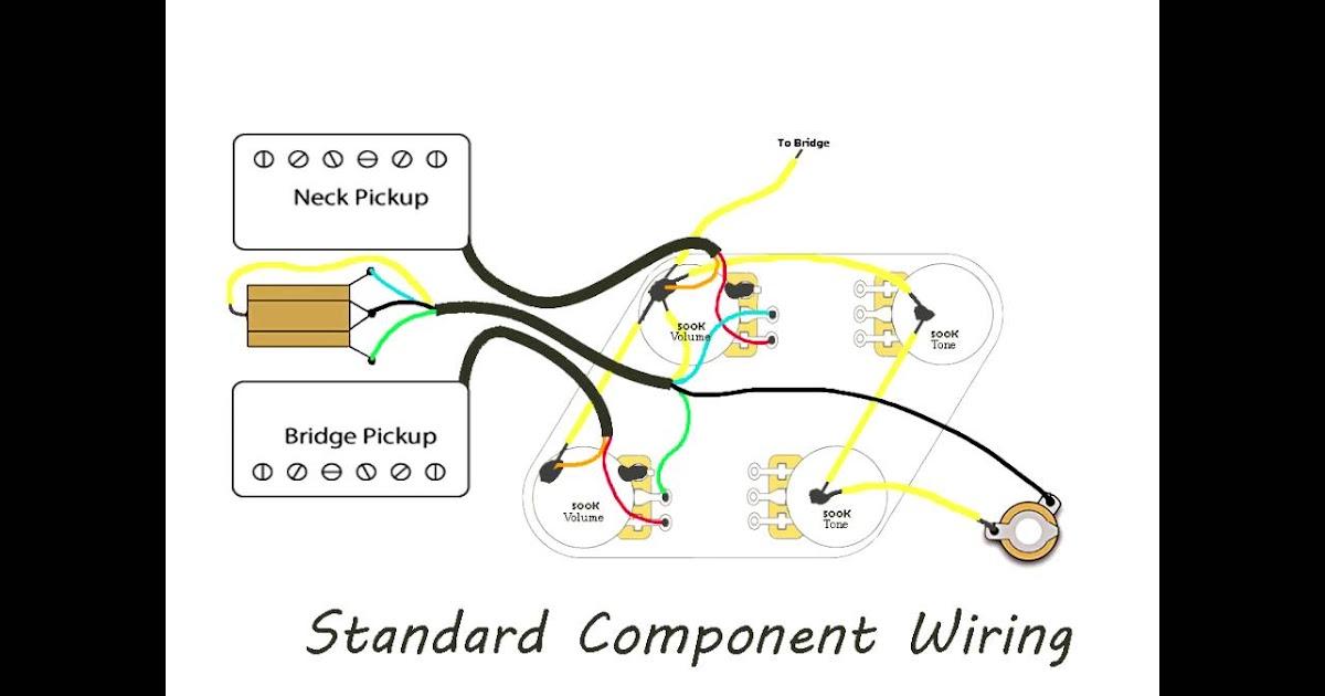 Vintage Les Paul Wiring Diagram