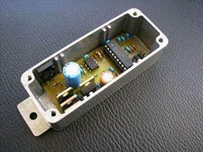 Điều khiển động cơ PWM với PIC16F819 TC4420 Mosfet