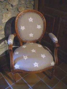 table rabattable cuisine tapisser un fauteuil