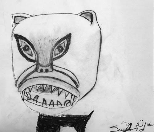 Charcoal Drawing by/Dessin au fusain par Serennity Polson