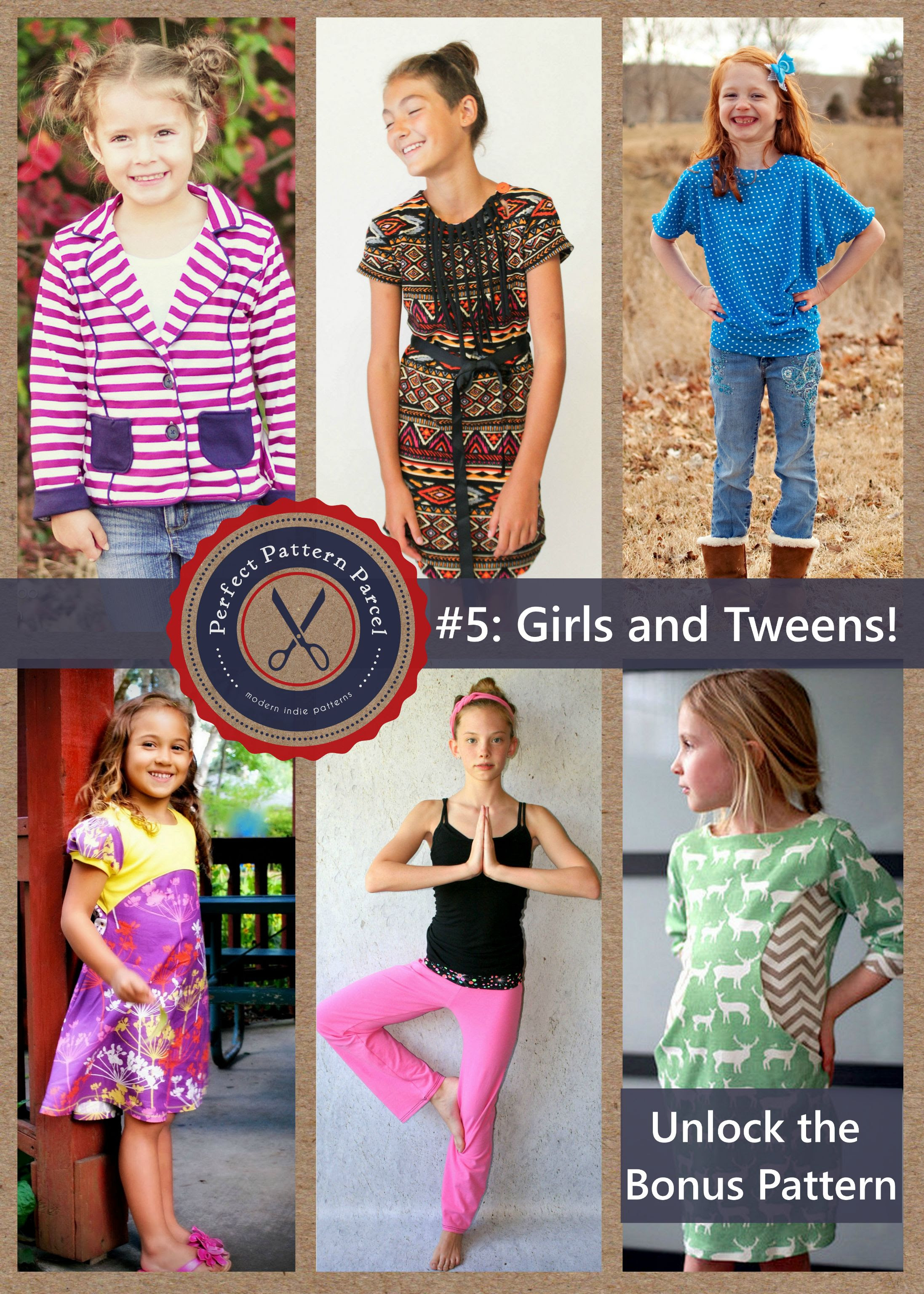 Pattern Parcel #5: Choose your own price and support DonorsChoose. Win/win!