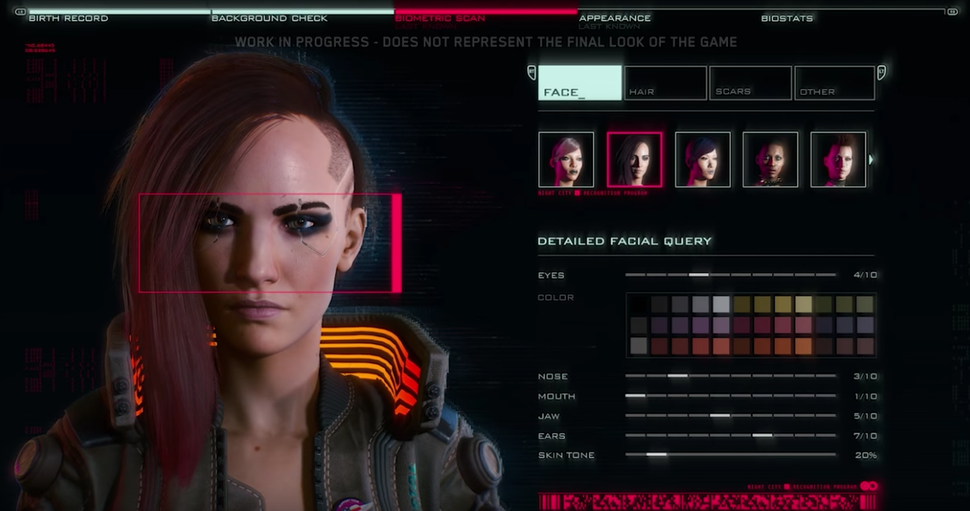 How Cyberpunk 2077 Character Customization Impacts the ...