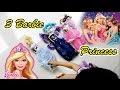 Asyiknya Bermain 3 Boneka Barbie Princess - Fun Play 3 Barbie Princess - Toys for girls