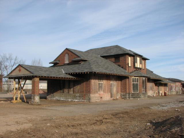 Fredericton train station, March 2010