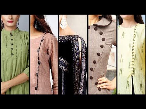 Plain Dhirt Design for Girl 2020 |  New Shirt Design 2020 for Girl in Pakistan