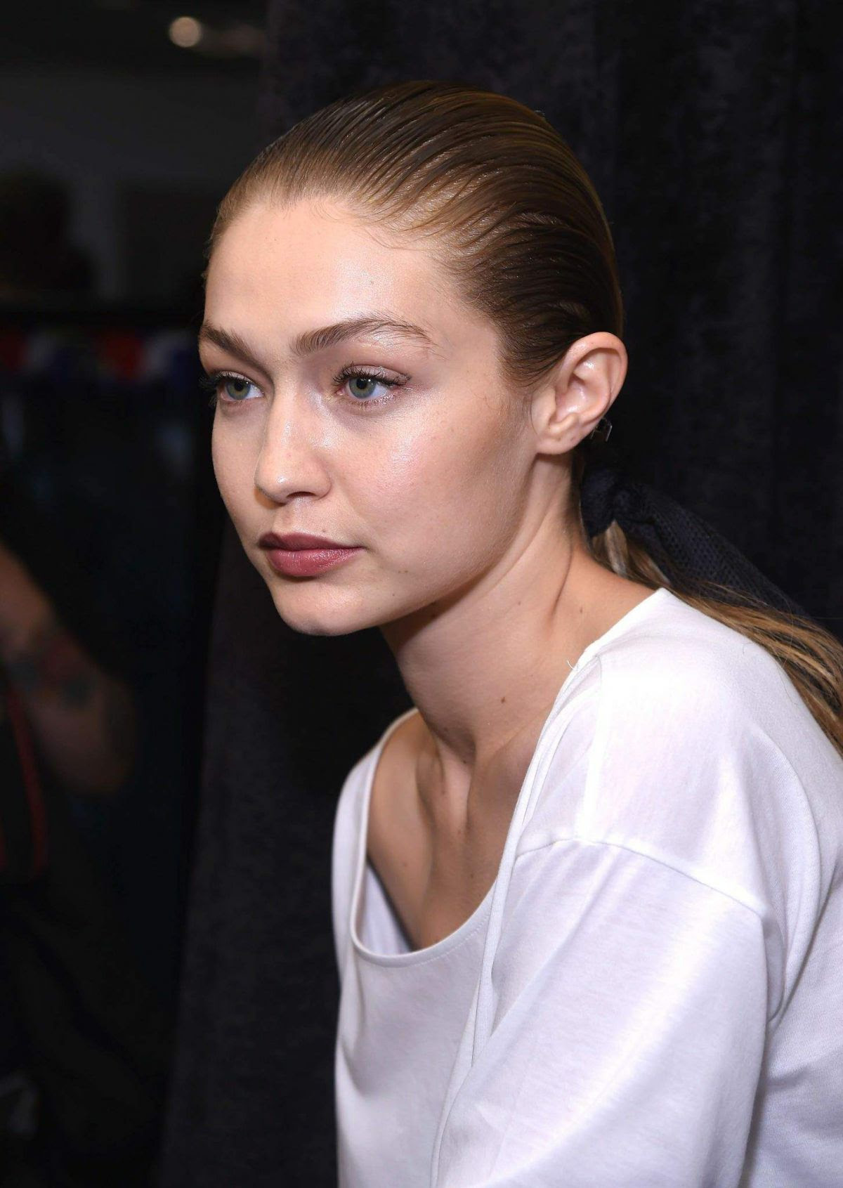 GIGI HADID at Prabal Gurung Fashion Show at NYFW in New York 09/10/2017
