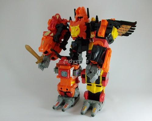 Transformers Predaking G1 - modo robot