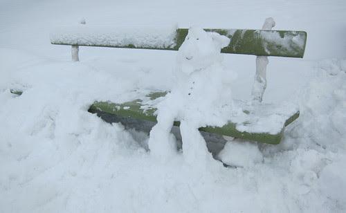 Lumiukon penkki by Anna Amnell