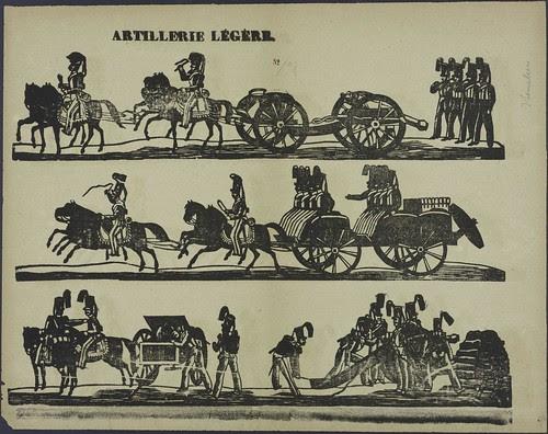 Artillerie légère by H Van Houter 1827-1894