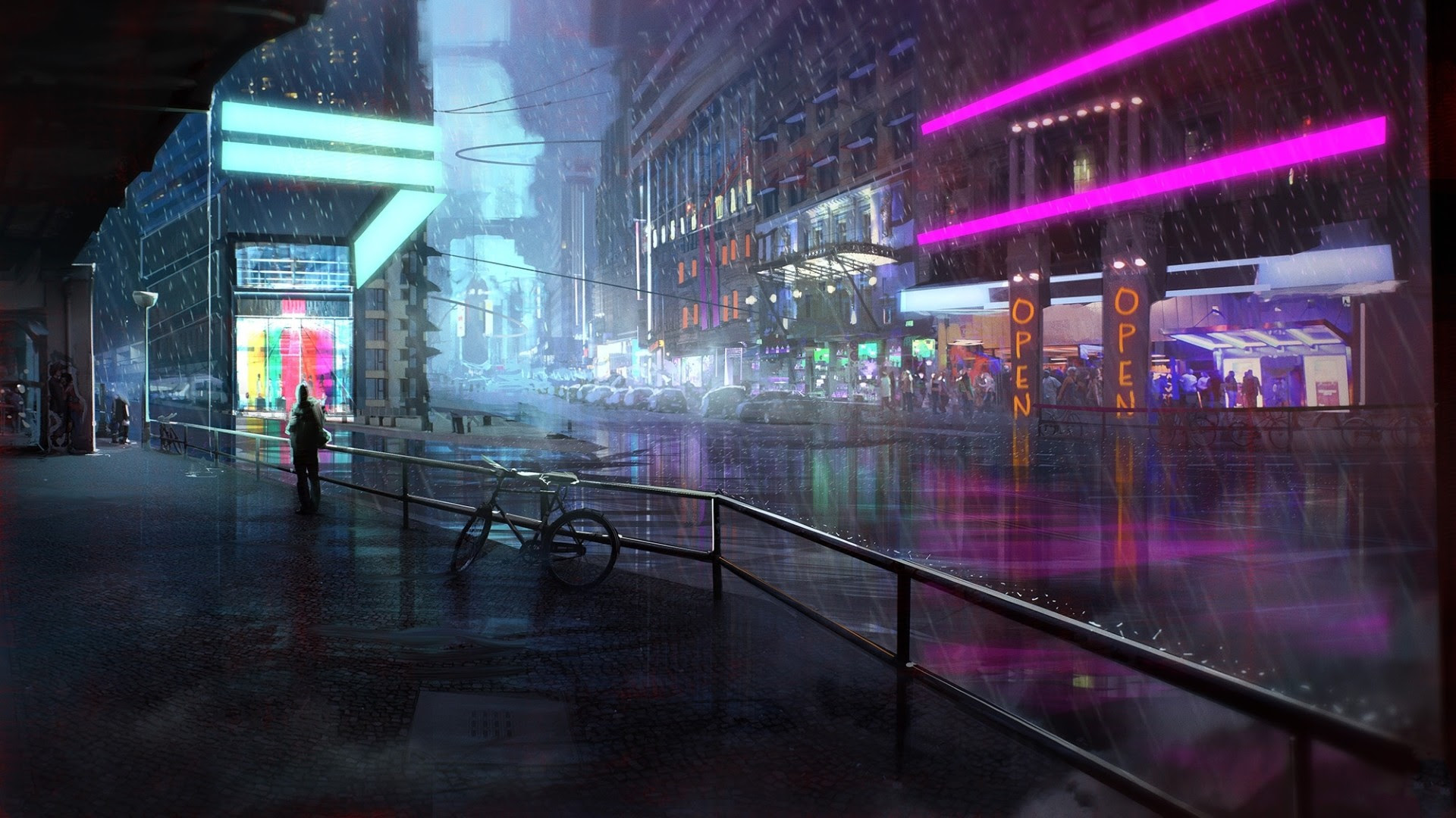 Cyberpunk Wallpapers (87+ images)
