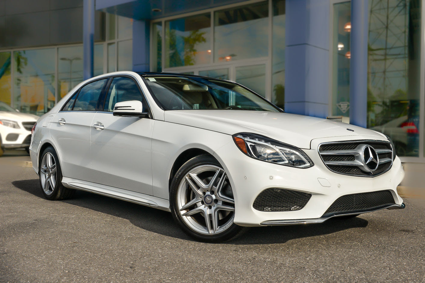 Pre-owned 2014 Mercedes-Benz E350 4MATIC Sedan in Ottawa ...