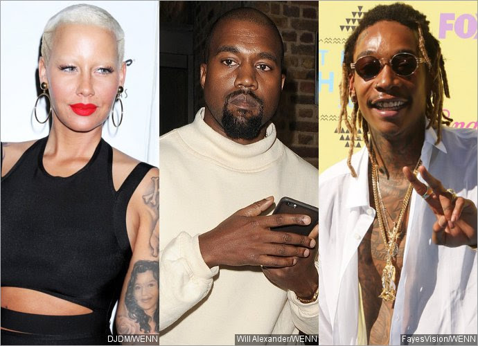 Amber Rose Upset for Being Called Kanye West's 'Infamous Ex' and Wiz Khalifa's 'Baby Mama'